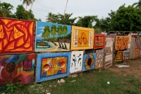 Photo de Street gallery in Las Terrenas - Dominican Republic