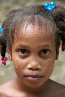 Picture of Girl from Limón - Dominican Republic