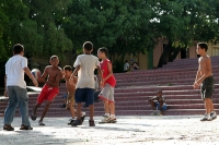 Picture of Kids playing basketball - Dominican Republic