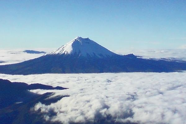 Enviar foto de Quito, Pichincha: Volcano near Quito de Ecuador como tarjeta postal eletrónica