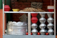 Foto van Bread stall in Cairo - Egypt