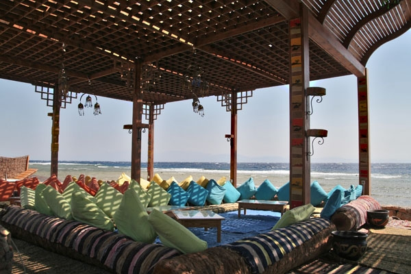  Beach restaurant in Dahab