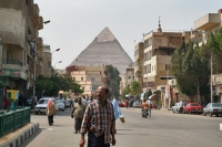 Foto di Khafre's Pyramid seen from Giza - Egypt