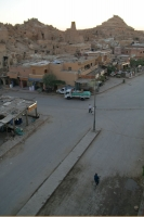 Foto van Street in Siwa after sunset during Ramadan - Egypt