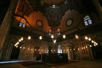Photo de Interior of Sultan Hassan mausoleum - Egypt