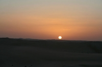 Foto de Sunset in the Great Sand Sea - Egypt