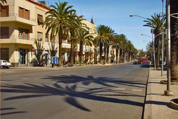 Send picture of Street in Asmara from Eritrea as a free postcard