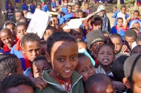 Picture of Eritrean students in Senafe - Eritrea