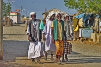 Foto van People in the streets on Dahlak archipelago - Eritrea