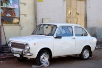 Picture of Old Fiat in the streets of Asmara - Eritrea