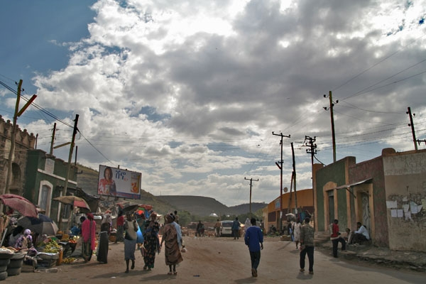 Send picture of Street in Dire Dawa from Ethiopia as a free postcard