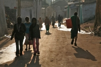 Foto van Streetlife in the early morning in Harar - Ethiopia