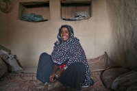Picture of Matriarch of the village of Koremi - Ethiopia