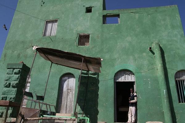 Stuur foto van House in the colorful town Adigrat van Ethiopië als een gratis kaart