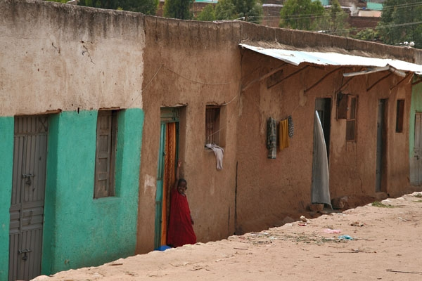 Envoyer photo de Houses in Harar de l'Ethiopie comme carte postale électronique