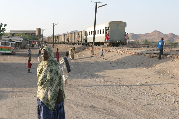 Train station in northern Ethiopia