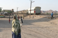 Photo de Train station in northern Ethiopia - Ethiopia