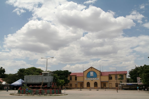 Send picture of Dire Dawa trainstation from Ethiopia as a free postcard