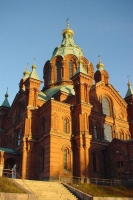 Photo de Russian orthodox church in Helsinki - Finland