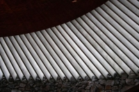 Foto de Detail from Temppeliaukio church  - Finland
