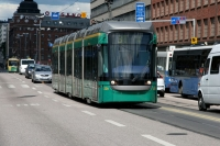 Picture of Tram in Helsinki - Finland