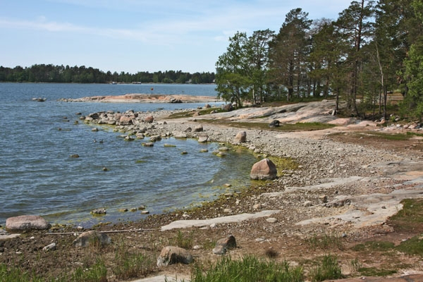 Send picture of Beach on Seurasaari island from Finland as a free postcard
