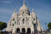 Picture of Basilica of Le Sacre Coeur in Paris - France