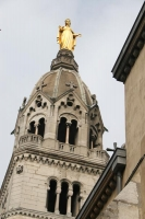 Foto de Detail of a church in Lyon - France