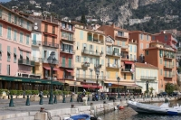 Foto van Waterfront houses in Villefranche sur Mer - France