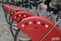 Photo de Public bikes in Lyon - France