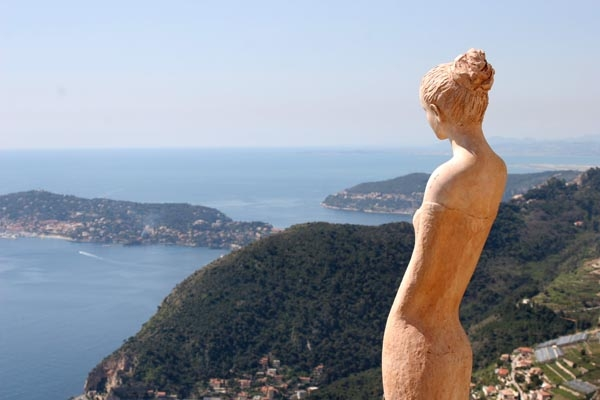 Send picture of View from Eze from France as a free postcard