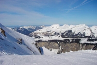 Foto van Slopes at Morzine ski resort - France