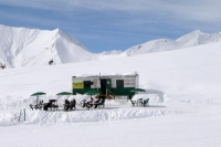 Foto van Café at the Gudauri ski area - Georgia