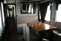 Foto van Interior of Stalin's railway carriage - Georgia