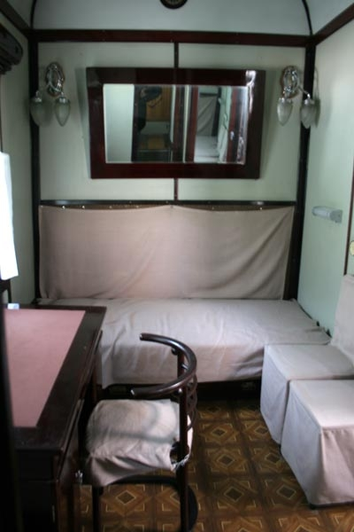 Send picture of Inside Stalin's railway carriage from Georgia as a free postcard