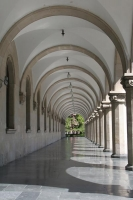 Picture of Arched hallway of Stalin Museum - Georgia
