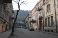 Foto van Quiet street in Tblisi - Georgia