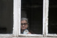 Foto van Elderly woman in her Tblisi home - Georgia