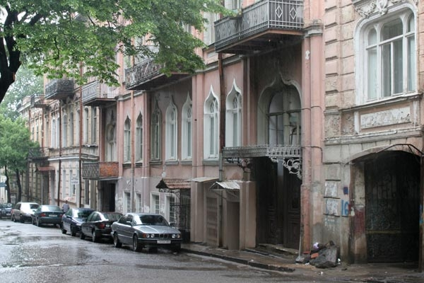 Send picture of Houses in Tblisi from Georgia as a free postcard