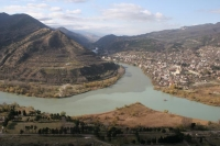 Picture of View over Mtskheta - Georgia