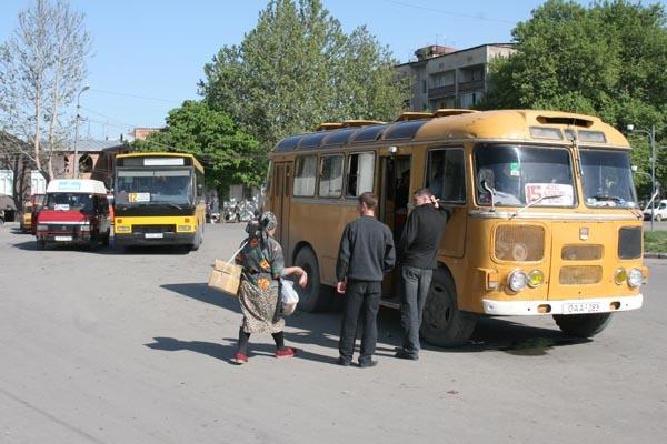 Envoyer photo de From the Gori bus station de Géorgie comme carte postale électronique