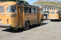 Foto de Busses in Gori - Georgia