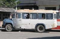 Photo de A bus at the Gori bus station - Georgia