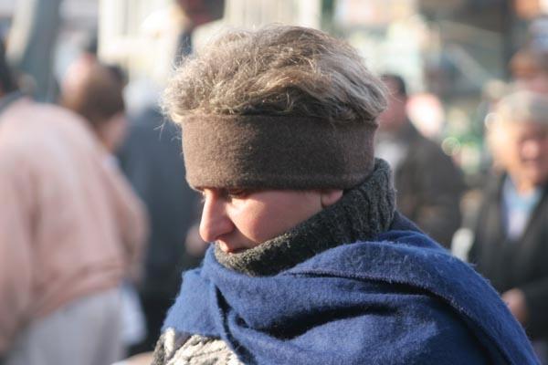 Envoyer photo de Dressed for the cold winter weather de Géorgie comme carte postale électronique
