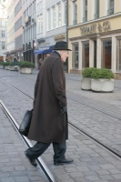 Photo de Man in the streets of Munich - Germany