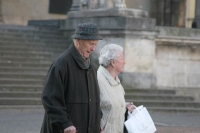 Foto van Elderly couple in Munich - Germany