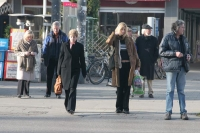 Foto van People in the streets of Munich - Germany