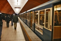 Picture of Metro train in Munich - Germany