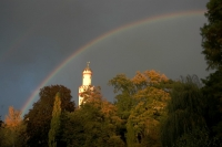 Foto van Rainbow over Bad Homburg - Germany
