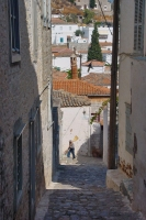 Foto di Narrow street on Hydra - Greece